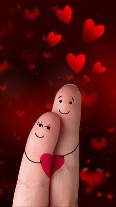 52 Ideas funny cute love kiss for 2019 Love Heart Images, Love You Images, I Love Heart, Love Pictures, Love You Gif, Love Kiss, Emoji Love, Finger Art, Heart Wallpaper