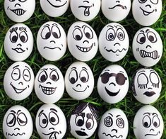 Eggs with Faces...