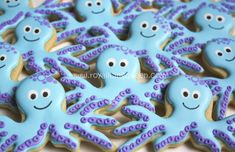 Octopus Cookies - The Royal Icing Queen - Cookie Connection