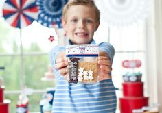 A Classic All American 4th of July Party Cute party favor idea!