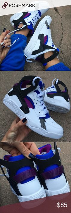 🦃💰NWOB 💙 HUARACHE RETRO SIZE 7 yth / 8.5 women ➡️ORDER YOUR WOMANS SHOE SIZE. I can help with sizing advice. This shoe runs slightly big   Size 7 youth approx = size 8.5 women's  RETRO HUARACHE THE ORIGINAL! 💜👟 BRAND NEW never worn! Ships same or next day, smoke free home. No box. Ships in a brand new shipping box. Shoes will be wrapped in tissue.   Bundle items to save. ❤️ PRICE IS FIRM⚡️100% authentic Nike product purchased directly from NIKE Nike Shoes Athletic Shoes