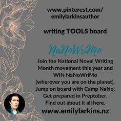 Collected tools to help those embarking on Preptober, NaNoWriMo (National Novel Writing Month), or Camp Nano. Ideas, preparing, time management, how to, and more! #nanowrimo #writingtools #howtowrite #nanowrimotools #nanowrimohelp #nanowrimoprep #nanowrimoschedule #nanowrimotimemanagement #nanowrimoideas #nanowrimoexperts #nanowrimoprompts #preptober #preptoberprompts #campnanowrimo #campnano #amwriting #amplanning #amplotting #nanowrimohowto