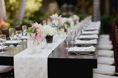 #menu  Photography: Paper Antler - paperantler.com Floral Design: Sweet Pea Flowers - sweetpea-flowers.com  Read More: http://www.stylemepretty.com/2013/01/30/vail-colorado-wedding-from-sweet-pea-flowers/