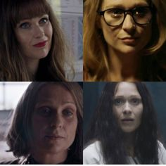 Eurus many faces. Sherlock Season 4.