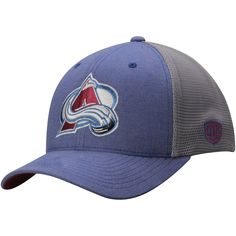8c58d252c34 Men s Colorado Avalanche Old Time Hockey NavyDuster Mesh Back Structured  Flex Hat