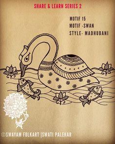 Peacock Painting, Mural Painting, Fabric Painting, Mask Painting, Madhubani Art, Madhubani Painting, Outline Drawings, Bird Drawings, Mandala Drawing