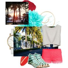 """""""#CaliforniaGirls"""" by ejhudson on Polyvore"""