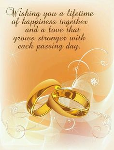 wedding congratulations quotes amp sayings wedding congratulations wedding wishes messages wedding quotes easyday Happy Wedding Wishes, Wedding Wishes Messages, Happy Wedding Anniversary Wishes, Birthday Wishes, Happy Wishes, 2nd Anniversary, Happy Weding, Anniversary Quotes For Couple, Wedding Greetings