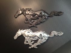 Ford Mustang Custom Pony Emblem 2005 to 2009 by hamRheadCreations, $40.00
