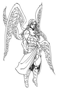 """""""At some point, I became """"The strongest of the four Archangels"""" and """"The Angel of Death""""… And an existence feared by the Demon Clan…. Seven Deadly Sins Anime, 7 Deadly Sins, Four Archangels, Manga Art, Anime Art, Comic Book Template, Blue Exorcist Anime, Seven Deady Sins, Nerd"""