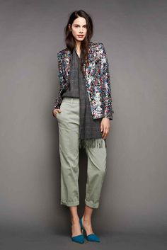JCrew Styling Tips Ideas- Fall 2015 Fashion Week Show