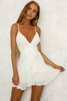 Ice cold dress white white dress outfit, cute white dress, little white Blue Wedding Dresses, Grad Dresses, Homecoming Dresses, Sexy Dresses, Cute Dresses, White Graduation Dresses, Elegant Dresses, Ball Dresses, Formal Dresses
