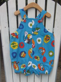 Dr Suess Bubble/ Romper by MamaMaggies on Etsy, $25.00