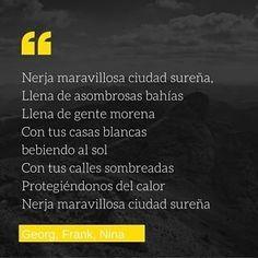 Poema de nuestros estudiantes Georg Frank y Nina. Nivel B2. Sois geniales gracias por compartirlo! #LearnSpanish #Español http://ift.tt/2bQzNEj