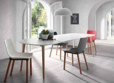 Tavoli di haya per saloni-Sala da Pranzo : Modello OAKLAND