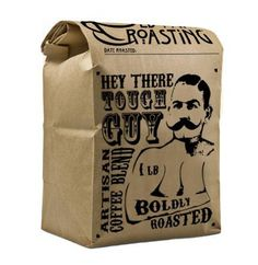 Hey There, Tough Guy fair trade coffee blend from Old Town Roasting ☕️