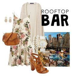 ROOFTOP BAR!!! by joziee on Polyvore featuring polyvore fashion style VILA Violeta by Mango Bamboo Charlotte Russe Sole Society clothing summerdate rooftopbar