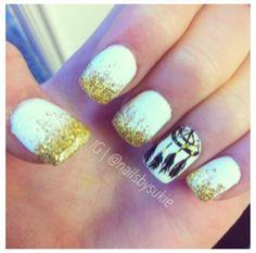 Dream catcher nails. So cute