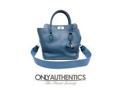 Hermès Blue Colvert Swift Leather Toolbox 26 Cm