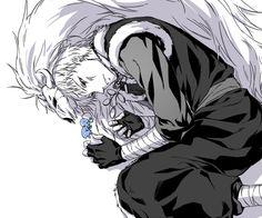 Akatsuki no Yona / Yona of the dawn anime and manga || Ao and Shin ah blue dragon Seiryuu Shin-ah-mon-roll <3
