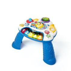 The world of music opens up before your baby's eyes with this endlessly entertaining activity table. It starts with a real working piano-style keyboard for baby's musical experimentation. Flip the bo...
