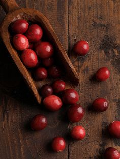 #Cranberries - Cranberries contain polyphenols (just as tea does), which may keep plaque from sticking to teeth, thus lowering the risk of cavities, according to a study published in the journal Caries Research.