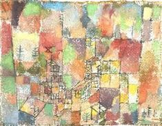 Two country houses - Paul Klee 1918