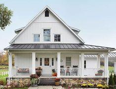 90 incredible modern farmhouse exterior design ideas (83) #ClassicExteriorDesign