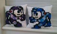 DIY Megaman Pillows