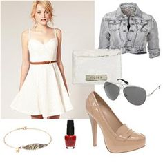 dressy/casual outfit