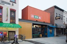 El Rey brings shipping-container chic and a year-round beer garden to U Street. Photograph by Jeff Elkins.