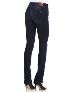 NWT DL1961 GRACE HIGH RISE STRAIGHT JEANS, MOSCOW WASH, SZ 28, 34 INCH INSEAM #DL1961 #SlimSkinny #straightleg #ebay #say