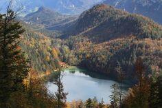 Alatsee(Lake) Fuessen Bavaria Germany.