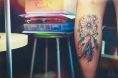 DREAMCATCHER WATERCOLOR TATTOO on Behance
