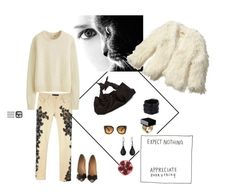 """""""Sin título #189"""" by mfpblau ❤ liked on Polyvore featuring Saachi, Versace, SKU Jewelry, Miu Miu, The Row, Chanel, Hollister Co. and Uniqlo"""