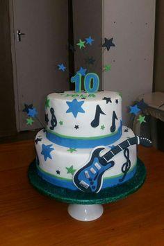 Electric guitar cake Cakes I have made Cakes by Aylisha