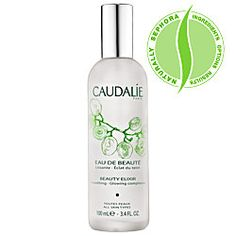 Caudalie Beauty Elixir is wonderful to mist yourself with after long flights. Extremely refreshing!