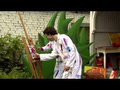 Dirk Scheele - Ik Ben Een Echte Kunstenaar uit de serie ´Huis, tuin en keukenavonturen deel 1´ - YouTube