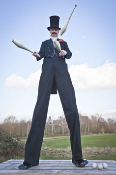 Happy Dapper Chap  from www.FlamingFun.com:  Call 07788732552 for more info.