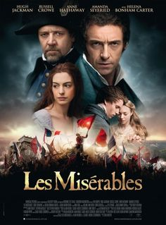 Poster (not sure if it is just for Lebanon as that is the site where it comes from - still interesting though!), Les Miserables movie