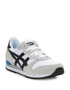 Asics Alvarado Lace-Up Sneakers Men's White/Black 10