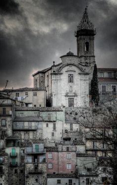 Colledimezzo - town in the Abruzzi District of Italy
