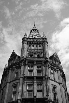 Nottingham Gothic - one of my favourite buildings  Always admire this as I head to my bus.