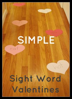 Easy and super cheap, this sight word game thrilled my toddlers for multiple days! Personalize to meet the needs of your children!