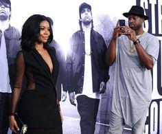 Gabrielle Union and Dwyane Wade Straight Outta Compton | POPSUGAR Celebrity