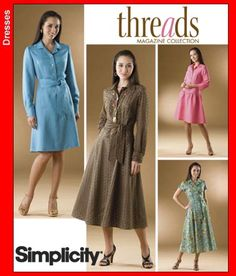 Simplicity 2996 Misses & Miss Petite Dress (Size 8-16) Out of Print