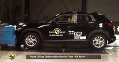 Mazda CX-3 çarpışma testi
