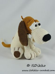 Following this pattern Butch the Basset will be approximately 30 cm by 13 cm. The pattern is available in English (American terminology) and can be purchased in my Etsy shop or on Craftsy. The pattern is very detailed and contains a lot of pictures. After completion of your order the PDF file containing the pattern […]