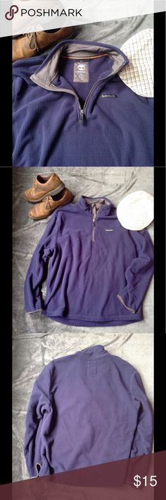 Warm Up in Timberland Blue and Grey fleece by Timberland In very good used condition. Size 2XL Timberland Jackets & Coats Performance Jackets