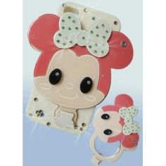 Mirror Luxury Designer Case with Cute Little Girl for Apple Iphone 4 and 4s$13.99